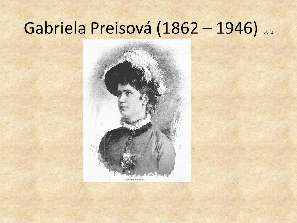 Gabriela Preisová (1862 – 1946) obr.2
