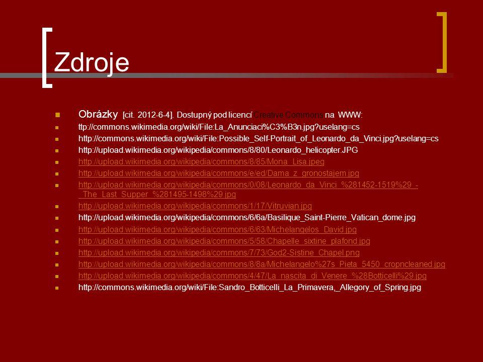 Zdroje Obrázky [cit.2012-6-4].