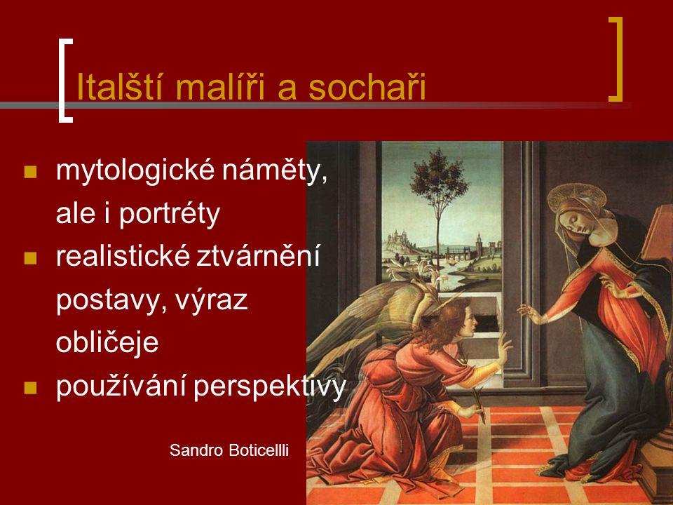 Sandro Boticelli – Zrození Venuše