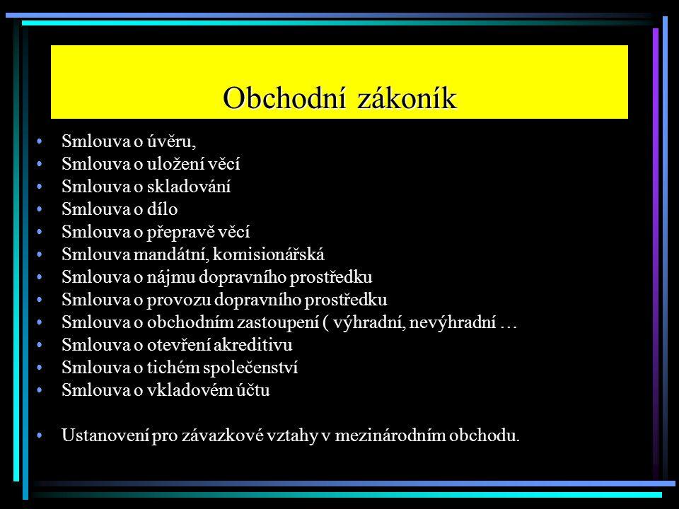 Cvičení Popište rozdíly ve Smlouvě o dílo a v Kupní smlouvě.