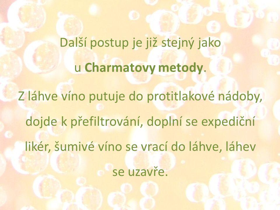 Další postup je již stejný jako u Charmatovy metody.