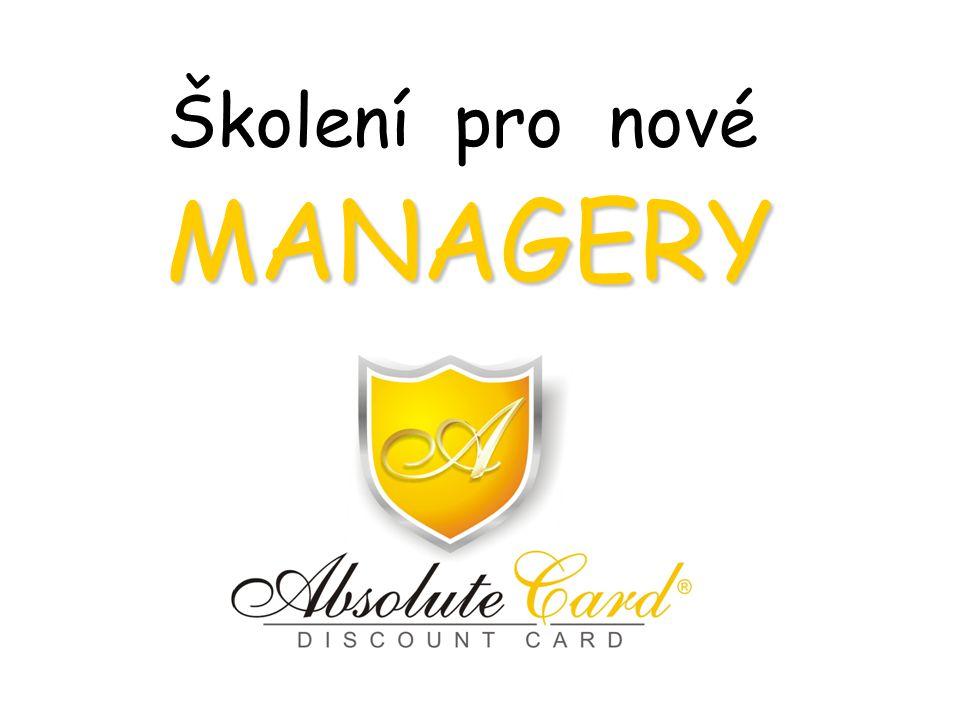 MANAGERY Školení pro nové MANAGERY
