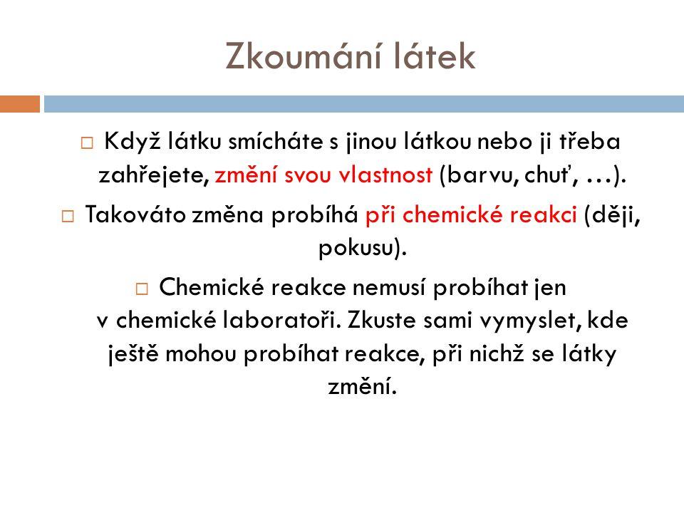 Co je cílem současné chemie.