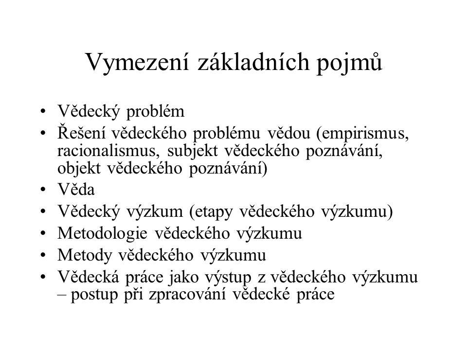 Popperův cyklus vědeckého poznání (7) P 1 TT 1 EE P 2...