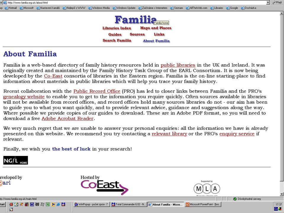 Familia - schema