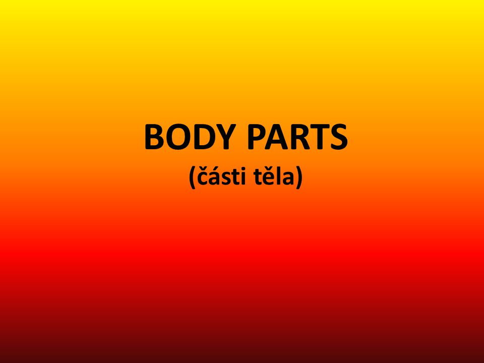 REPEAT AND POINT TO BODY PARTS 1.2. 6. 13. 15. 16.