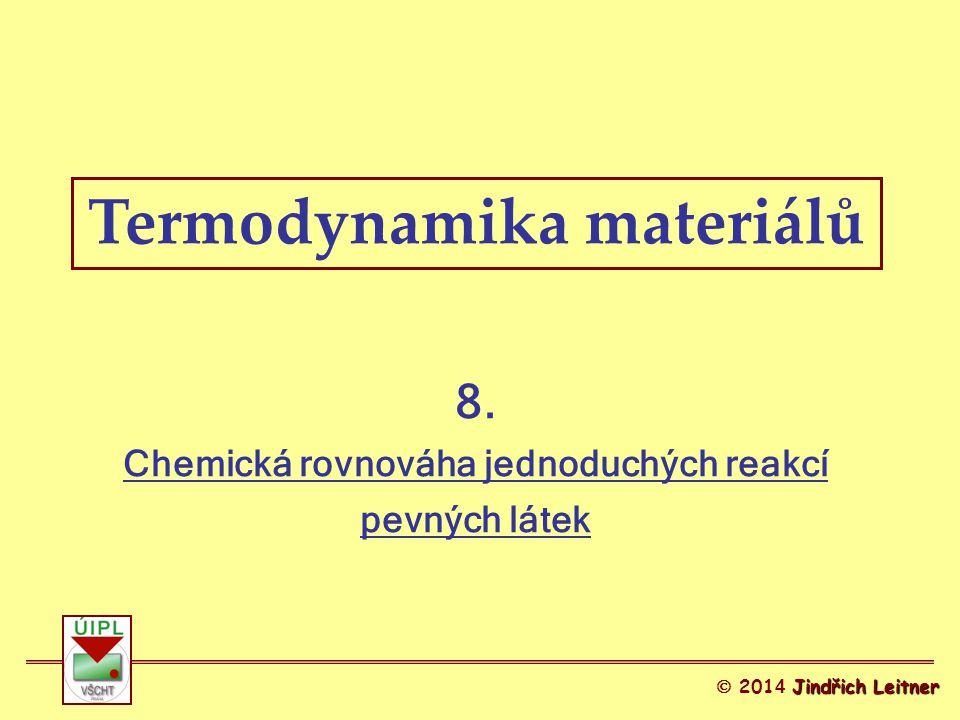 Termodynamika materiálů 8.
