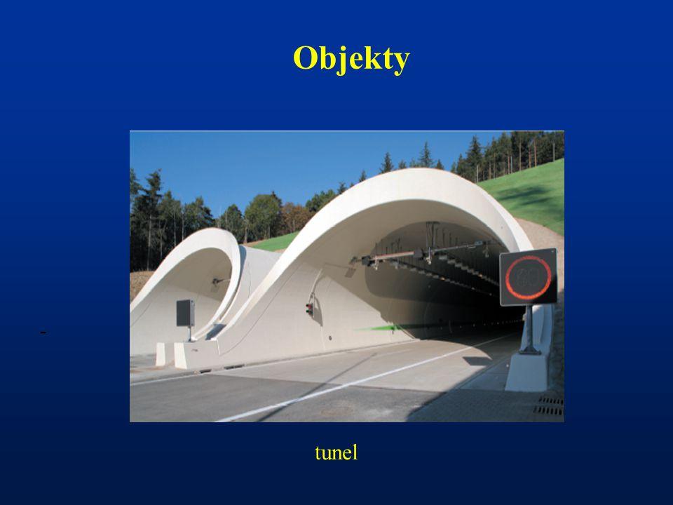 - Objekty tunel