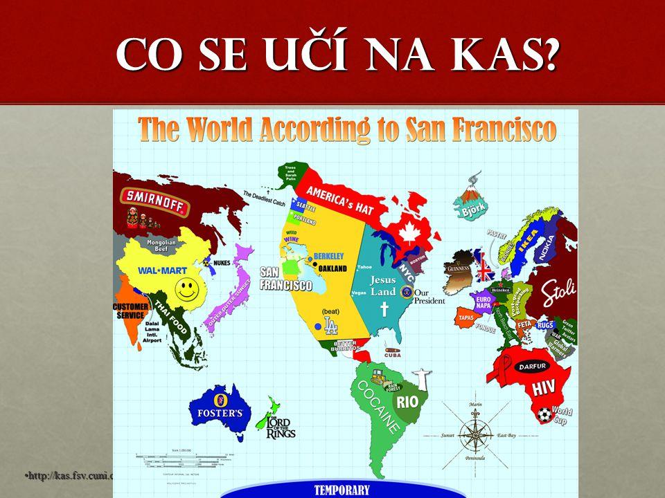 Co se učí na KAS? http://kas.fsv.cuni.cz
