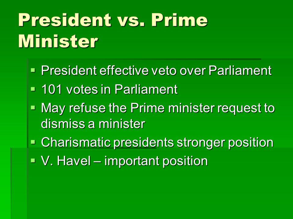 President vs.