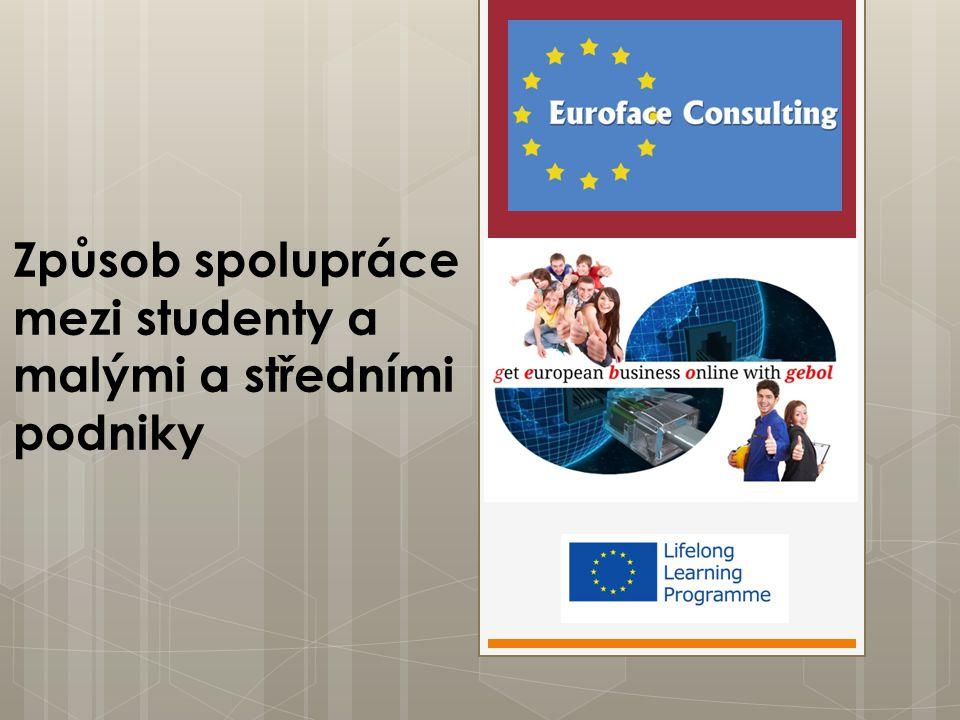 Způsob spolupráce mezi studenty a malými a středními podniky