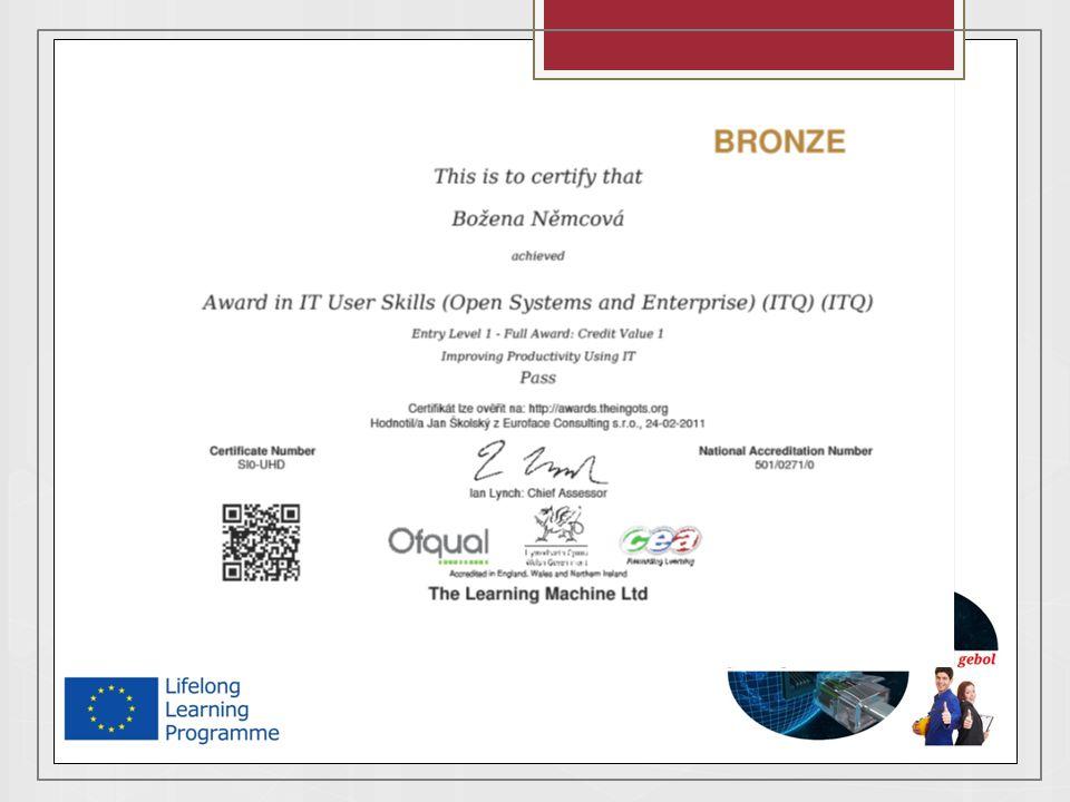 Hodnocení a certifikace