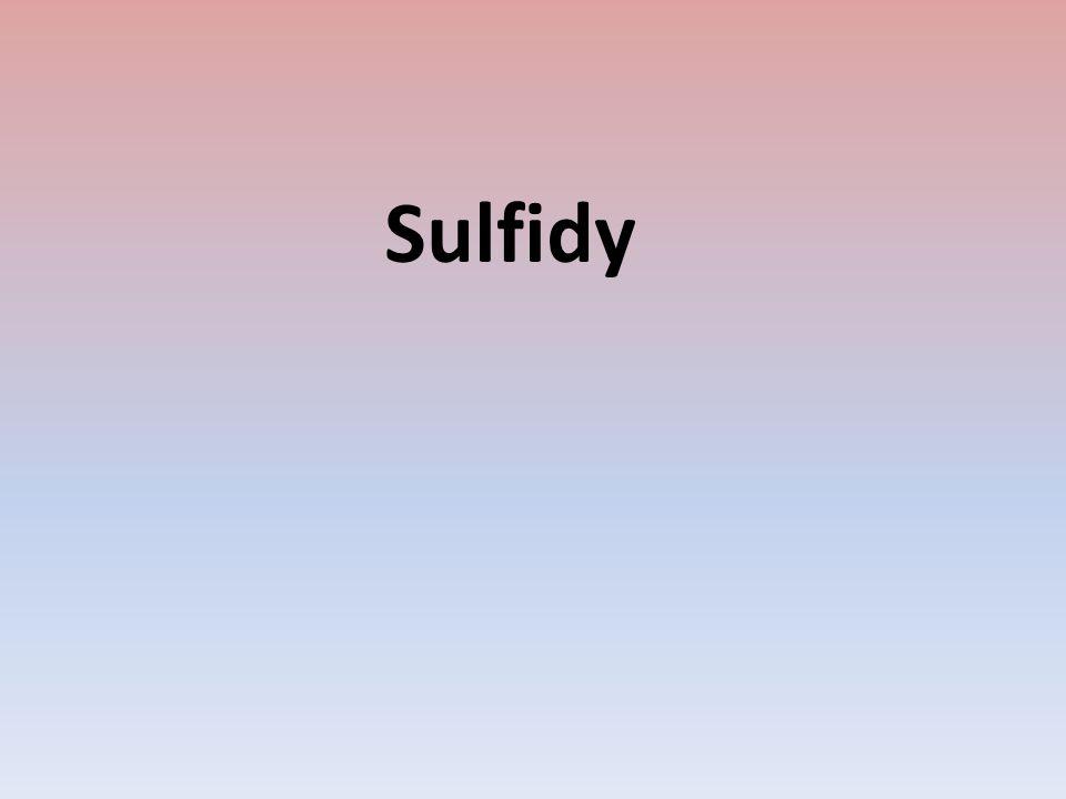 Sulfidy
