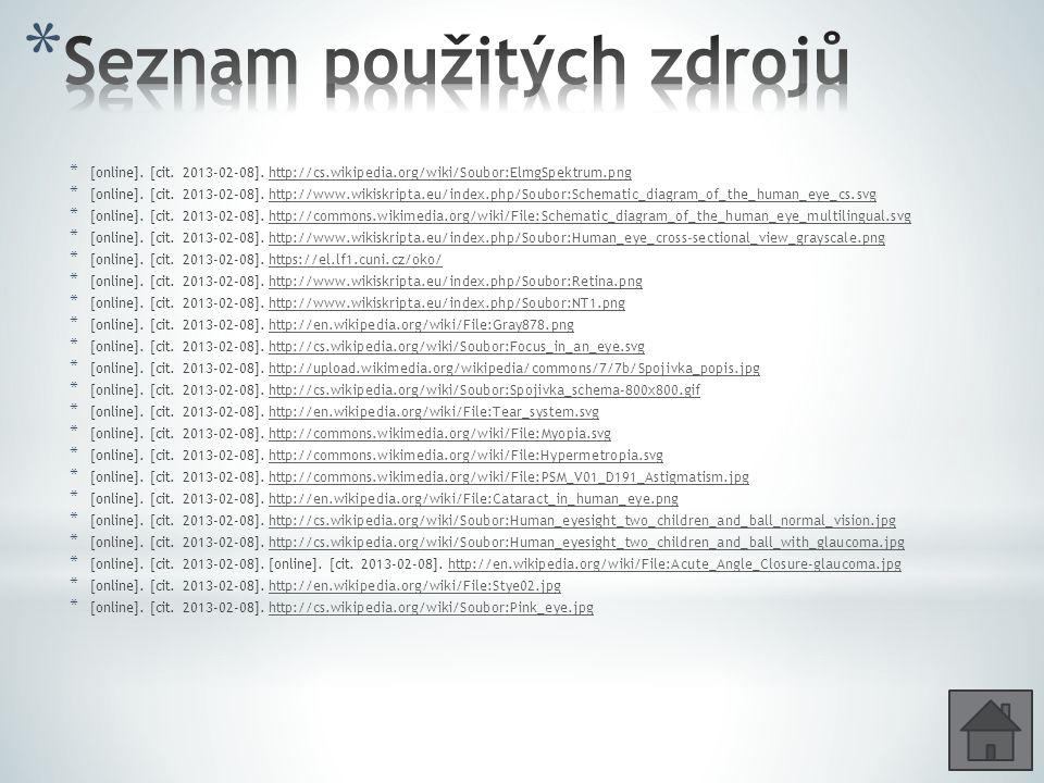 * [online]. [cit. 2013-02-08]. http://cs.wikipedia.org/wiki/Soubor:ElmgSpektrum.pnghttp://cs.wikipedia.org/wiki/Soubor:ElmgSpektrum.png * [online]. [c