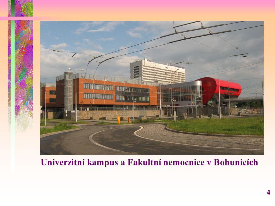 4 Univerzitní kampus a Fakultní nemocnice v Bohunicích