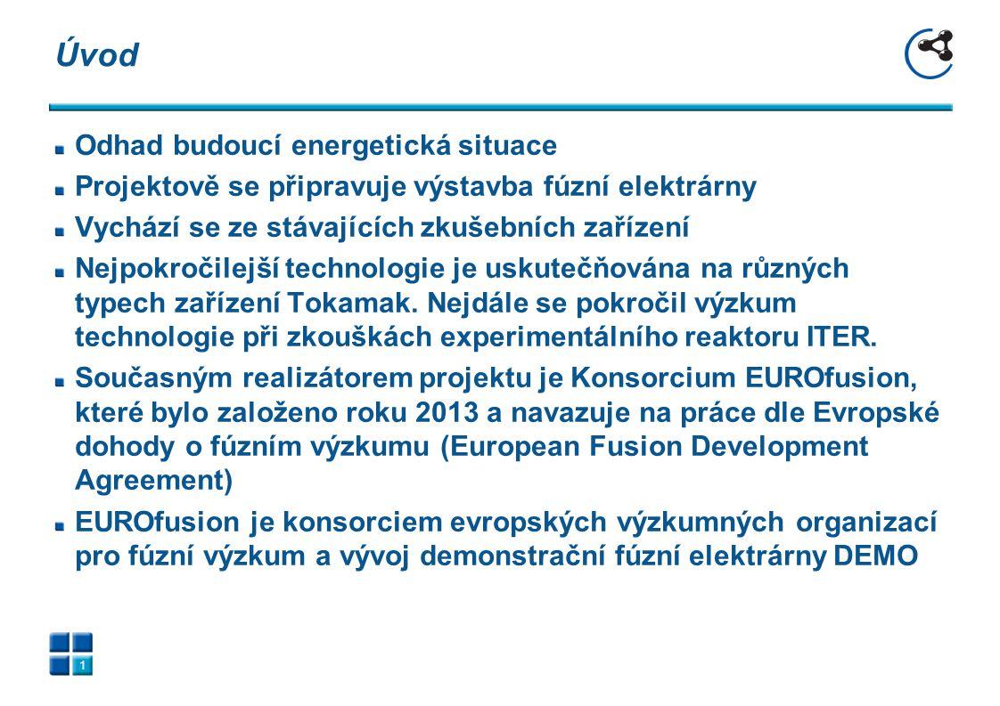 Umělecká představa Fúzní elektrárny 2 Fusion Electricity – EFDA November 2012
