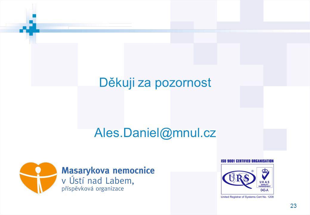 23 Děkuji za pozornost M Ales.Daniel@mnul.cz
