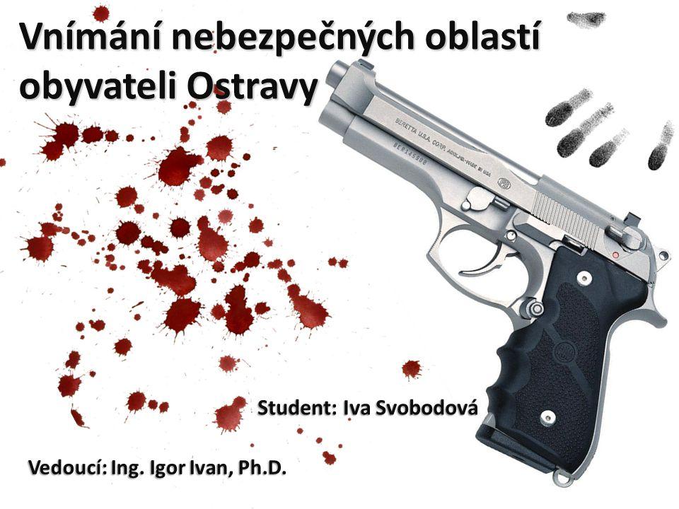 Cíle projektu Zjistit od Ostravanů lokality ve městě, kde se necítí bezpečně.