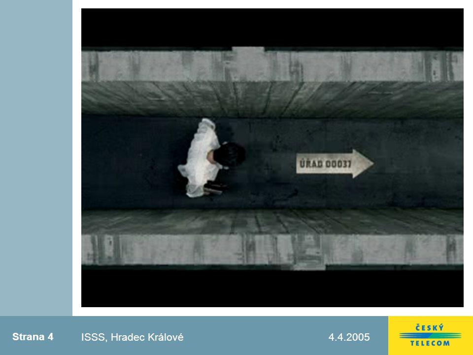 Strana 5 4.4.2005Testovací zápatí Prvky Portálu veřejné správy Informační část portálu – IBM Transakční část portálu – Microsoft Komunikační infrastruktura – ČTc Služby ISSS, Hradec Králové