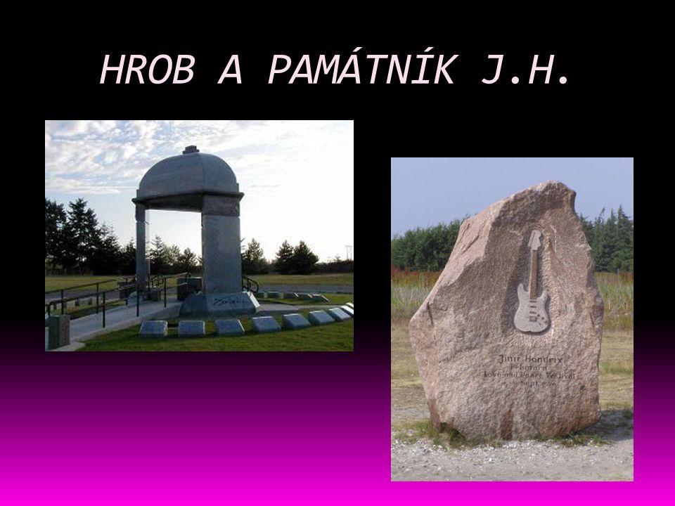 HROB A PAMÁTNÍK J.H.