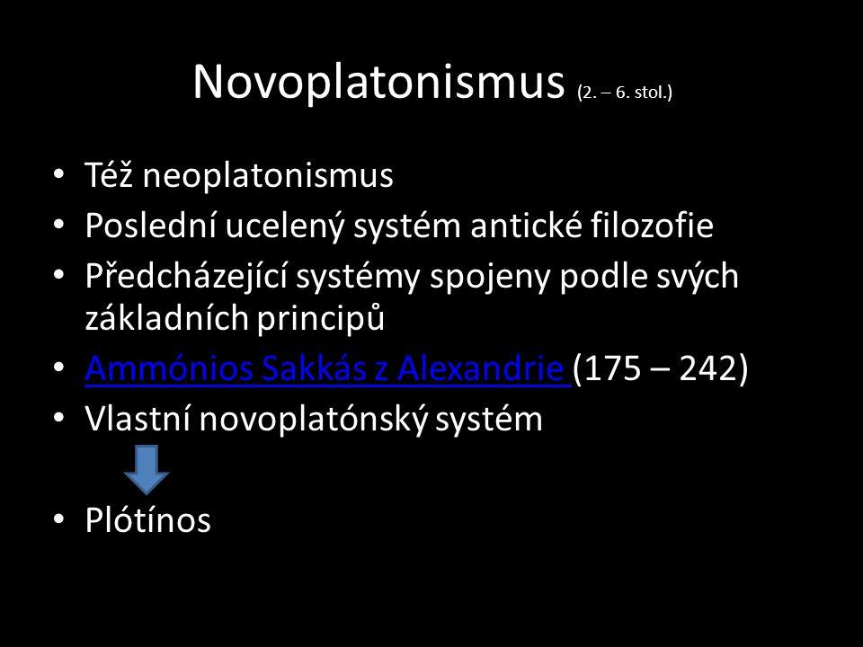 Novoplatonismus (2. – 6.