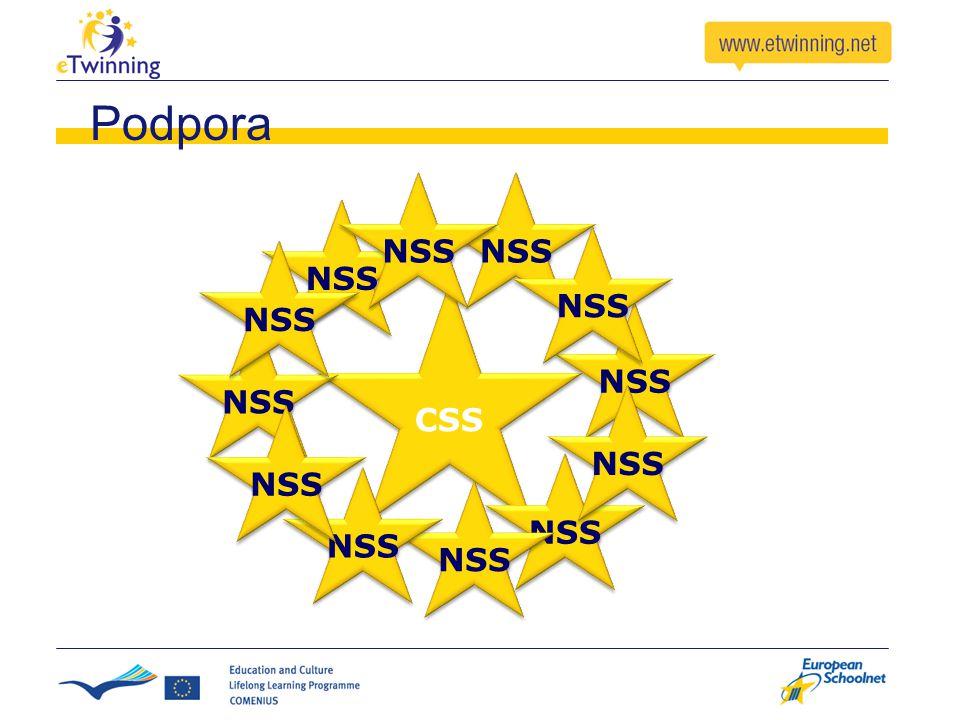 CSS NSS Podpora