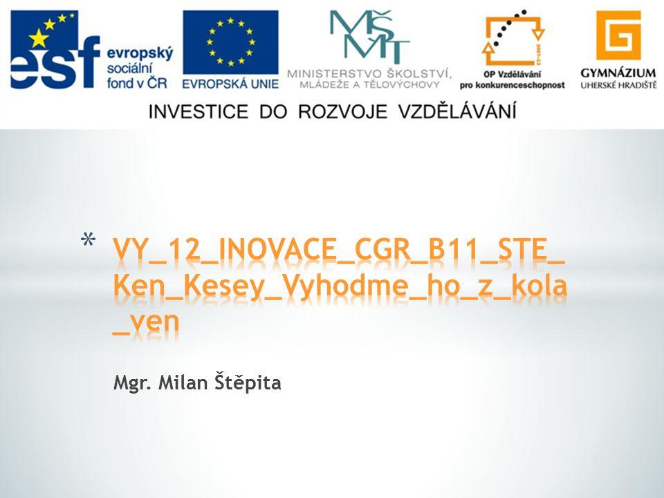 Mgr. Milan Štěpita