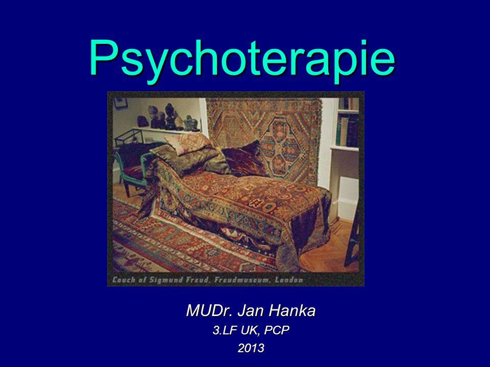 Psychoterapie Co to je.