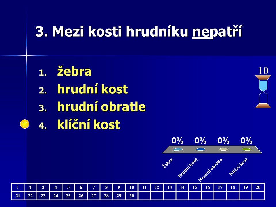 4.Pro správný vývin kostí je důležitý 1. vit. A, železo 2.