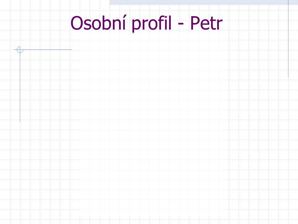 Osobní profil - Petr