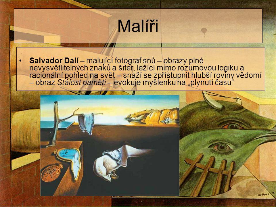 orig. =by=Beleven= corp. 2007 Malíři Salvador Dalí – malující fotograf snů – obrazy plné nevysvětlitelných znaků a šifer, ležící mimo rozumovou logiku