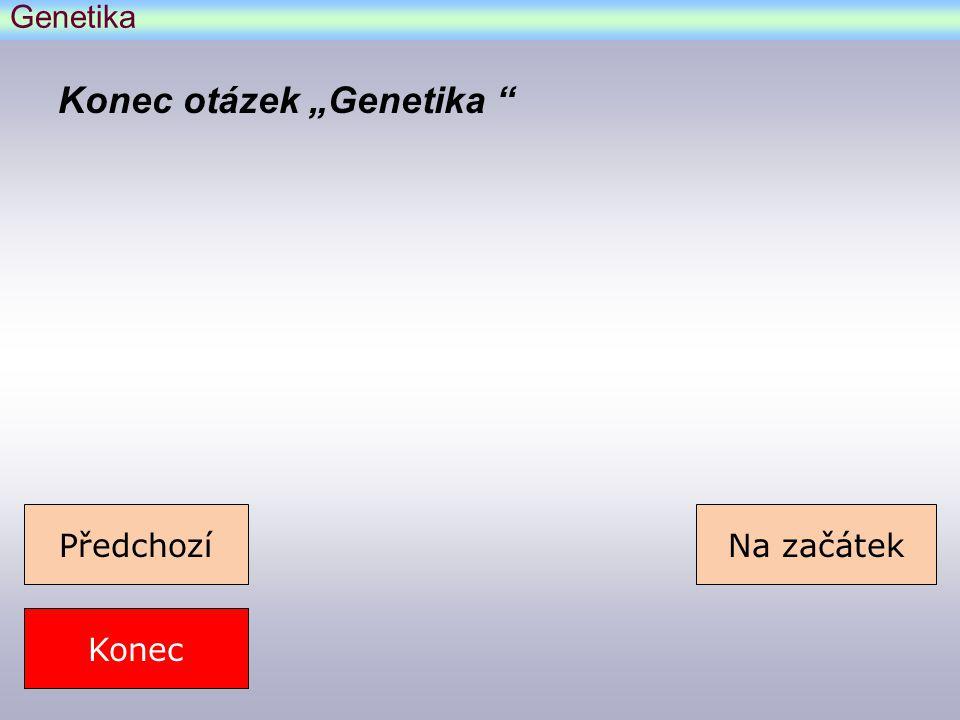 Genetika – komentář k otázce 3.