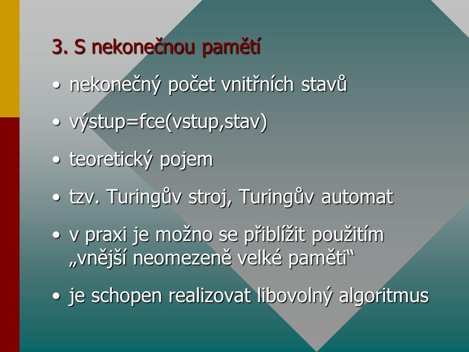 Konečný automat -definice Předpokládáme:Předpokládáme: 1.