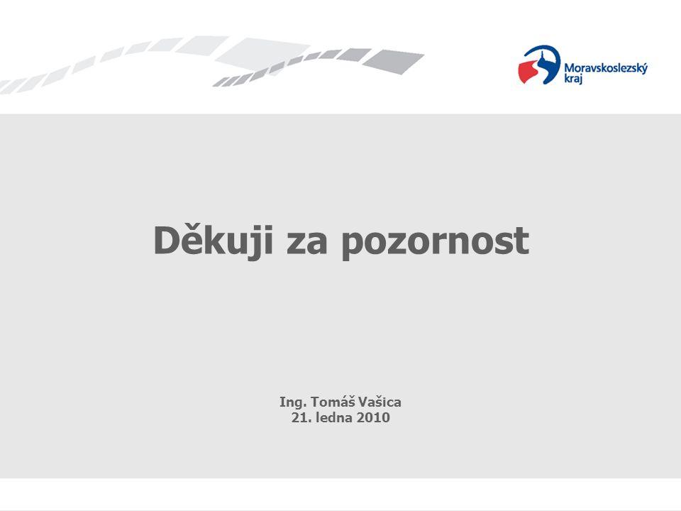 Projekty eGovernmentu v praxi 12 Děkuji za pozornost Ing. Tomáš Vašica 21. ledna 2010