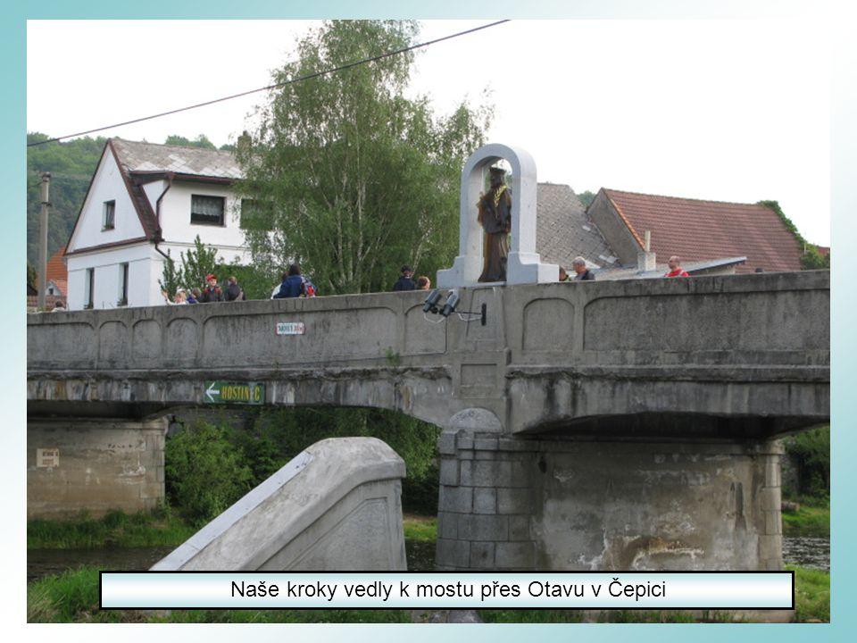 Do Žichovic jsme přijeli vlakem z Nepomuku