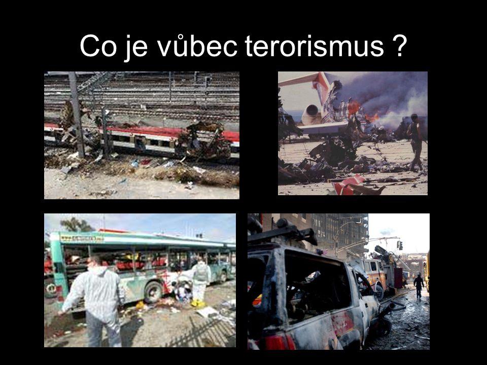 Co je vůbec terorismus ?
