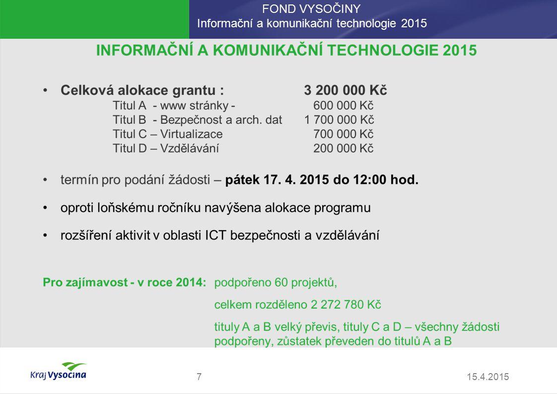 Značka Kraj Vysočina DOPORUČUJE PRO BEZPEČNÝ INTERNET  Určena pro ICT společnosti v Kraji Vysočina  Cíle značky zvýšení obecného povědomí o rizicích el.