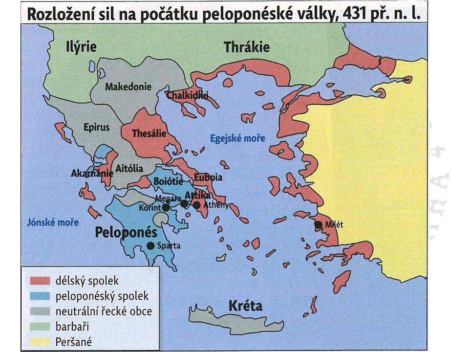 Peloponéská válka 457 – 446 př.n.l.