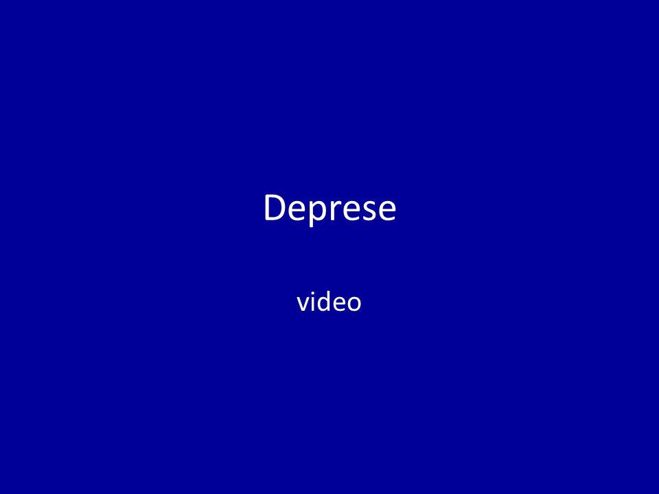 Deprese video