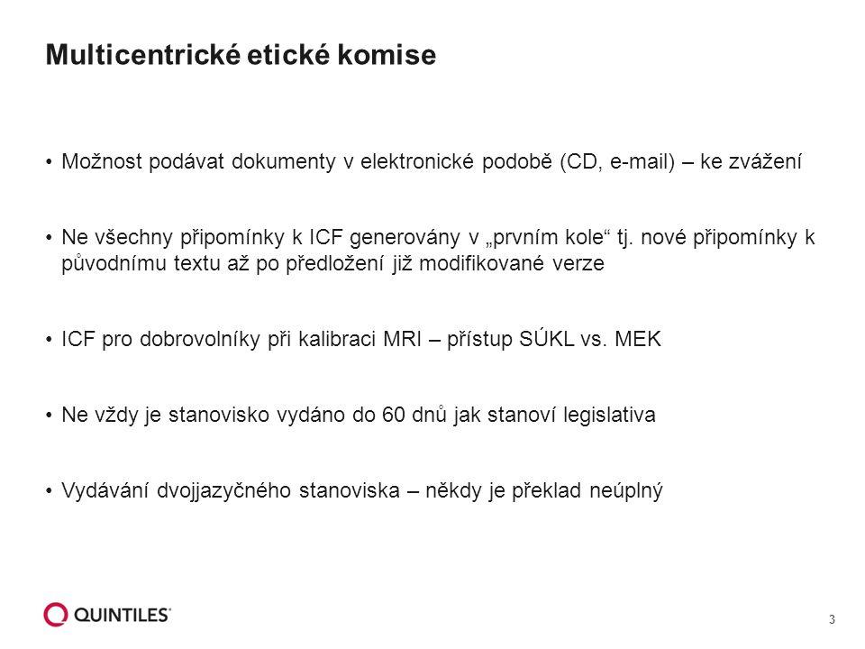 """3 Možnost podávat dokumenty v elektronické podobě (CD, e-mail) – ke zvážení Ne všechny připomínky k ICF generovány v """"prvním kole tj."""
