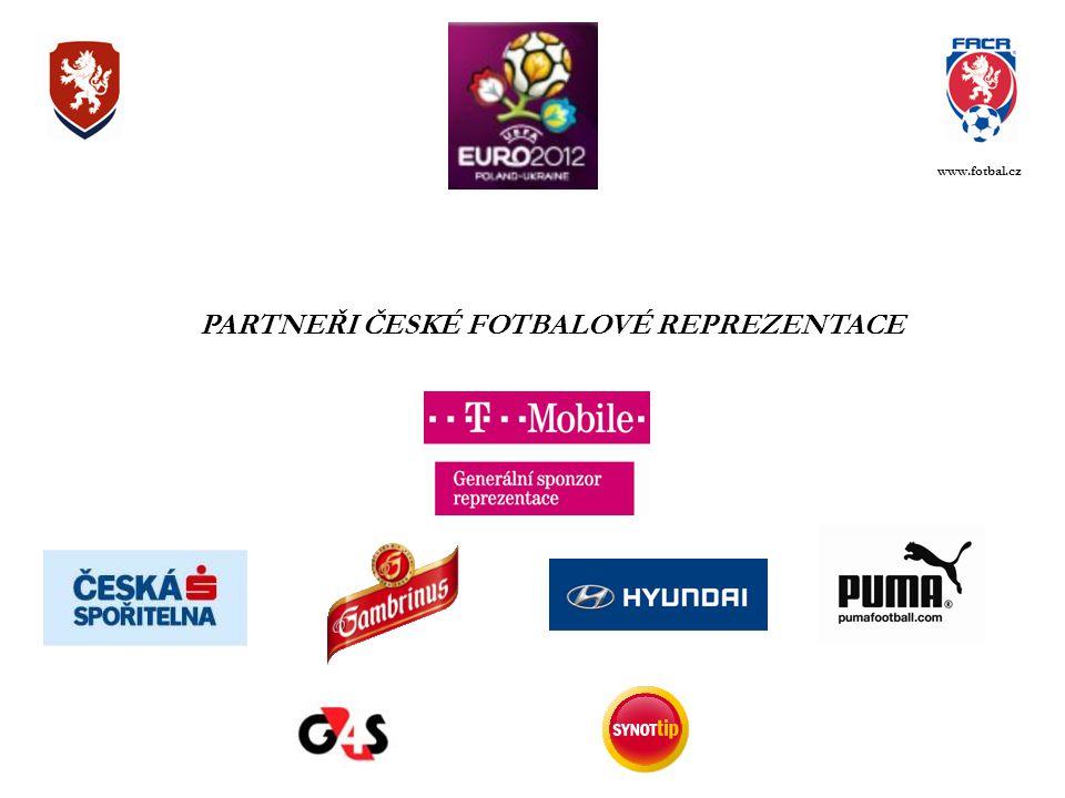 PARTNEŘI ČESKÉ FOTBALOVÉ REPREZENTACE www.fotbal.cz