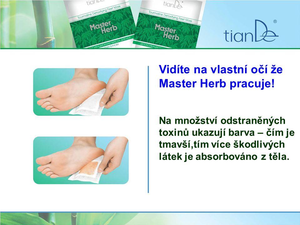 Před použitím detoxikačních masek je důležité udělat si nožní koupel se solí Tiande nebo z řady Talasso