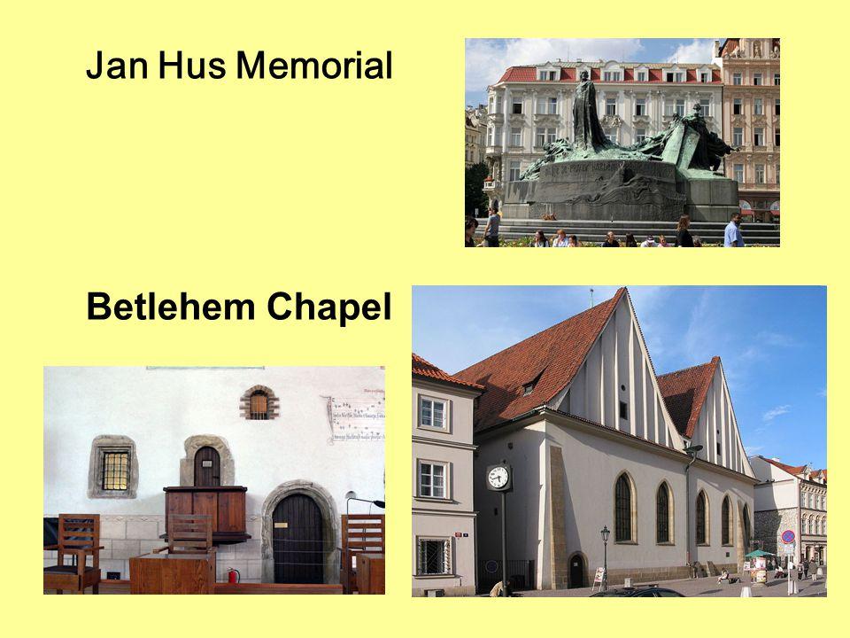 Jan Hus Memorial Betlehem Chapel