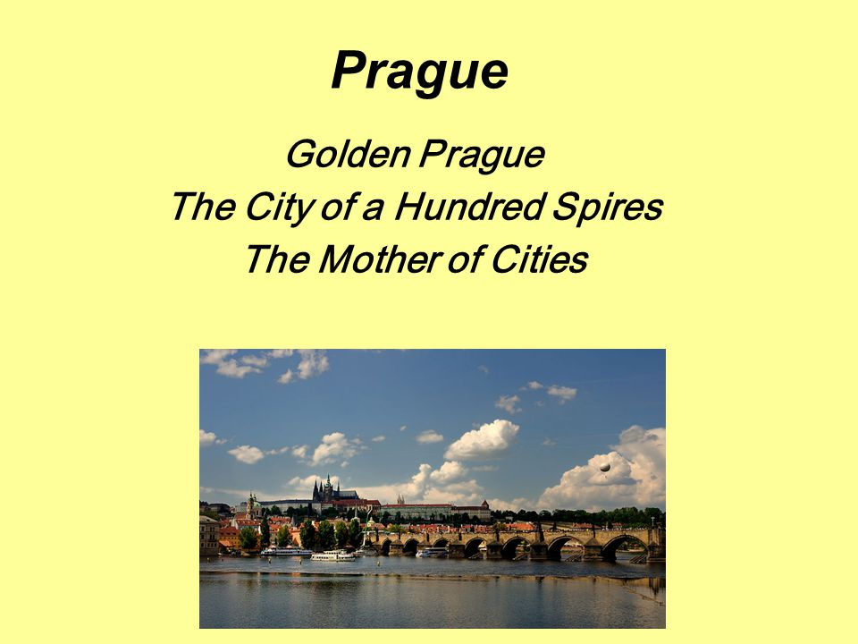 Location in the heart of the Czech Republic along both banks of the river Vltava
