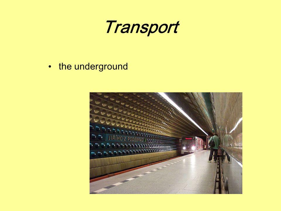 Transport the underground