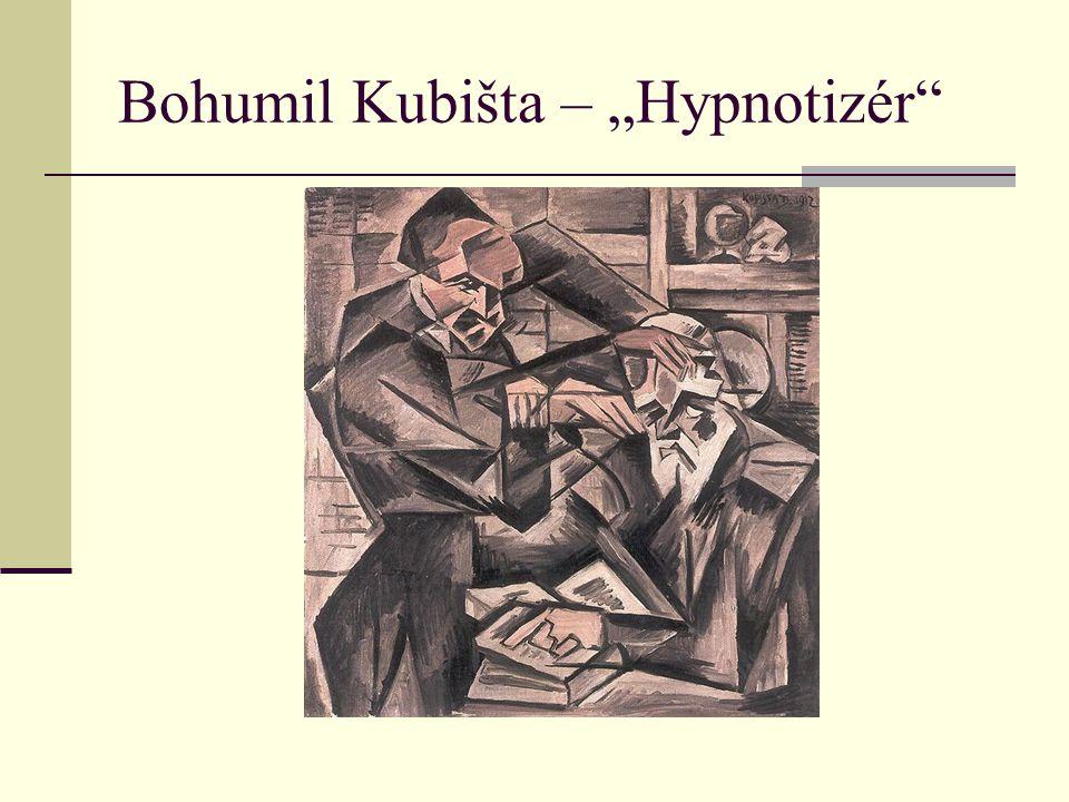 "Bohumil Kubišta – ""Hypnotizér"