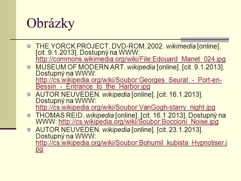 Obrázky THE YORCK PROJECT, DVD-ROM, 2002.wikimedia [online].