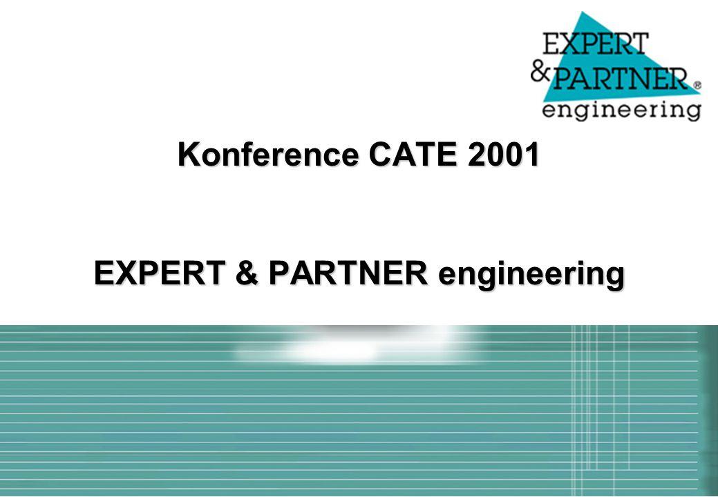 Konference CATE 2001 EXPERT & PARTNER engineering