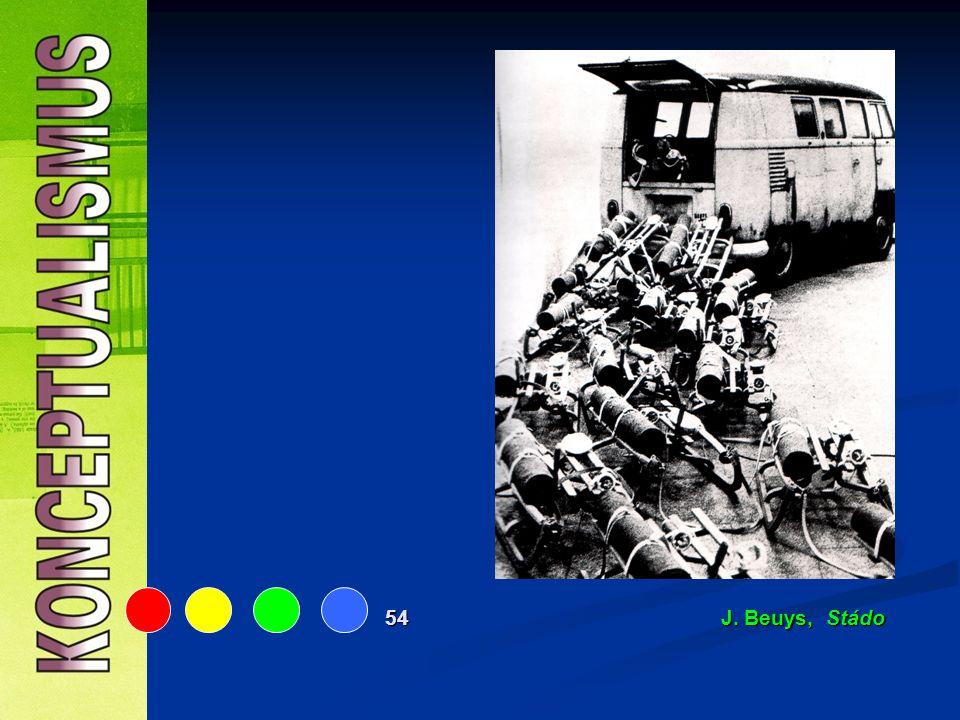 54 J. Beuys, Stádo