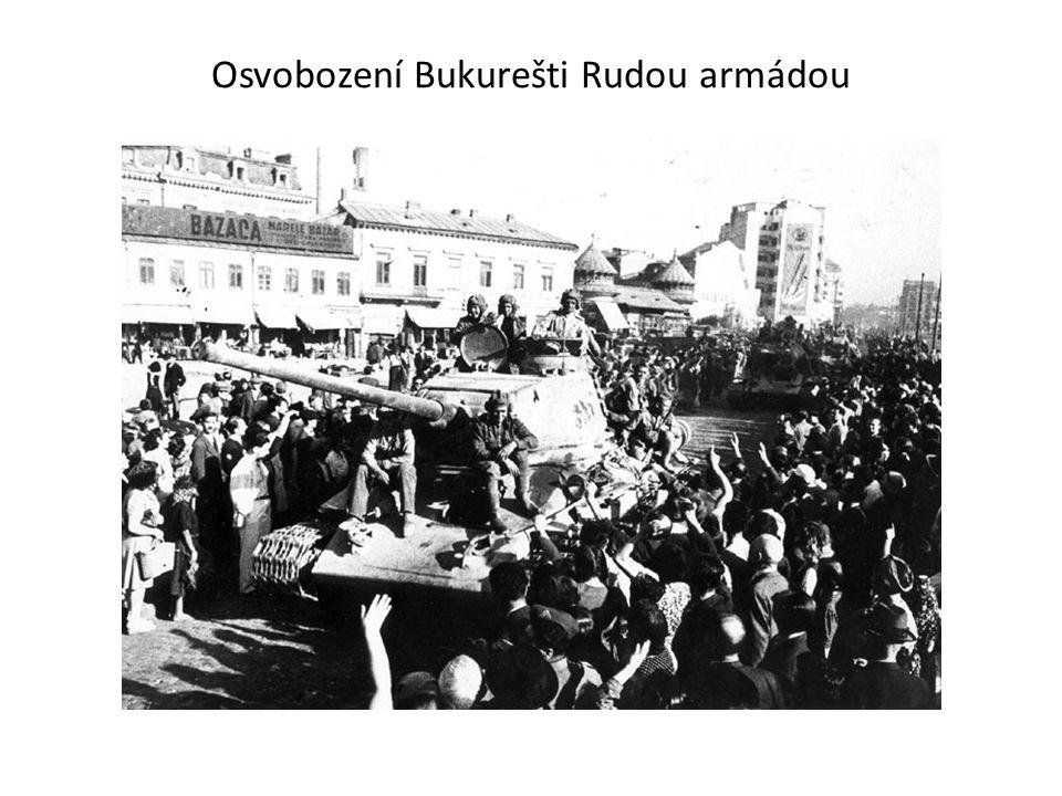 Osvobození Bukurešti Rudou armádou